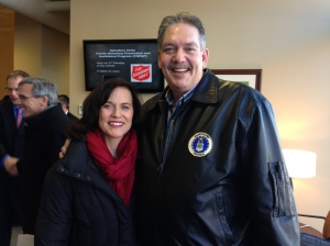 Mayor Hodges & Scott Roberts
