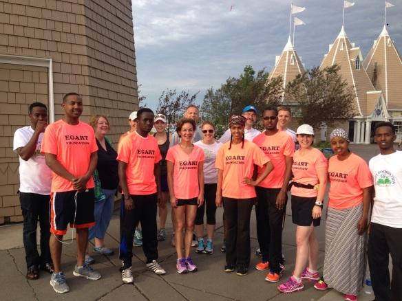 Egart Run for Girls Health