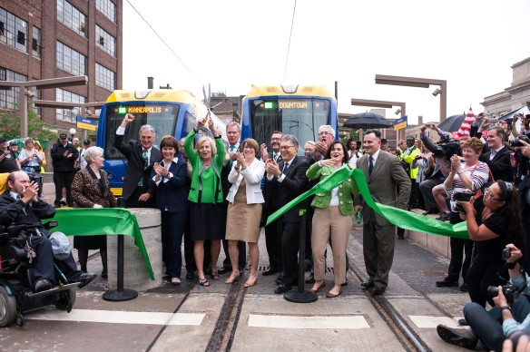 Opening of the Green Line