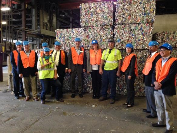 Touring the Eureka Zero Waste Lab
