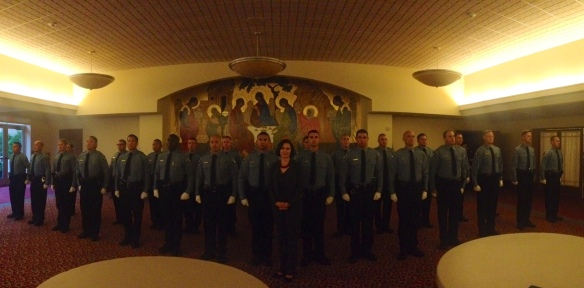 Minneapolis Police Department cadet graduation